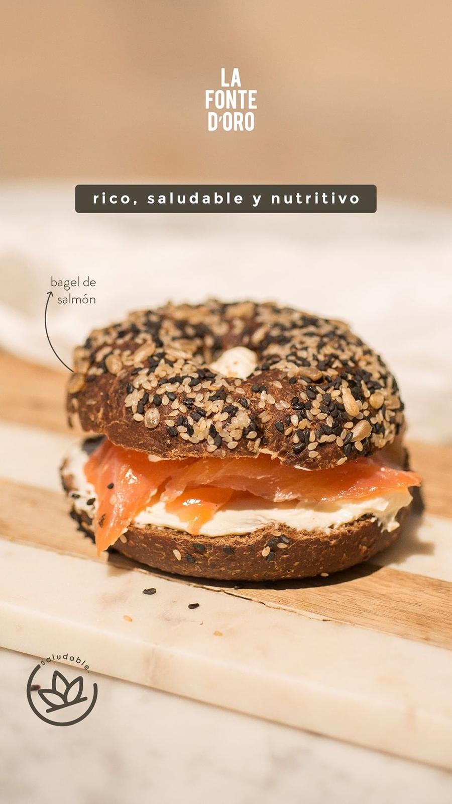Bagel - Rico, saludable y nutritivo