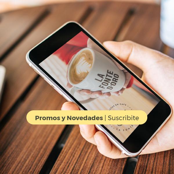 Promos y Novedades - Suscribite